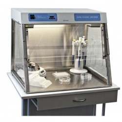 ПЦР-бокс UVC/T-M-AR для стерильных работ с УФ-рециркулятором, Biosan