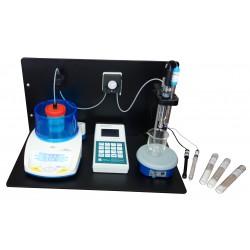 Лабораторный комплект для определения титруемой кислотности хлористого натрия, белка, общего азота, соды, сахаров в молоке и молочных продуктах «Титрион-Милк (Универсал)»