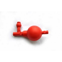 Груша резиновая с тремя клапанами