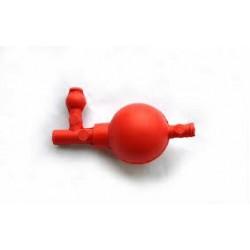 Груша резиновая с тремя клапанами и переходником, Kartell