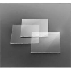 Стекло предметное (для копрограммы) 100*100±1,0 мм, толщ. 2,0±0,1 мм