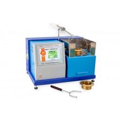 Аппарат автоматический ЛинтеЛ АТВО-21 для определения температуры вспышки в открытом тигле с газовым поджигом