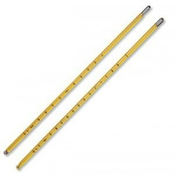 Термометр ASTM 104C (для определения температуры при дистилляции растворителей)