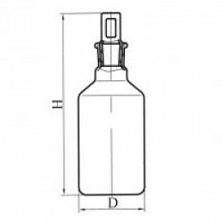 Склянка с пробкой ПП1, эскиз 2-2