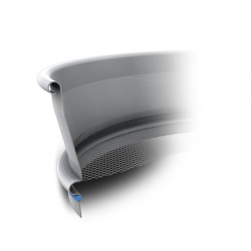 """Сито лабораторное Retsch с тканым полотном из нерж. стали, диаметр 200 мм, высота 50 мм, размер ячейки 25,00 мм, 1"""", ASTM E11"""