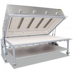 Печь для сплавления стекла Nabertherm GFM 1050/C440, с передвижным столом, 950°C