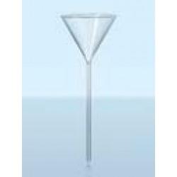 Воронка DURAN Group диаметр 55 мм, длина 190 мм, с длинной сливной трубкой, стекло