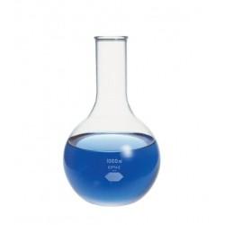 Колба плоскодонная Kimble 1000 мл, узкогорлая, стекло (Артикул 25000-1000)