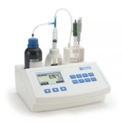 Минититратор Hanna HI84532 для определения кислотности фруктовых соков