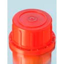 Крышка DURAN Group GL45 H, винтовая, красная, PP