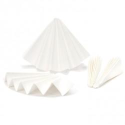 Высокочистые бумажные фильтры Hahnemühle 604, складчатые, Ø 90 мм, для качественного анализа