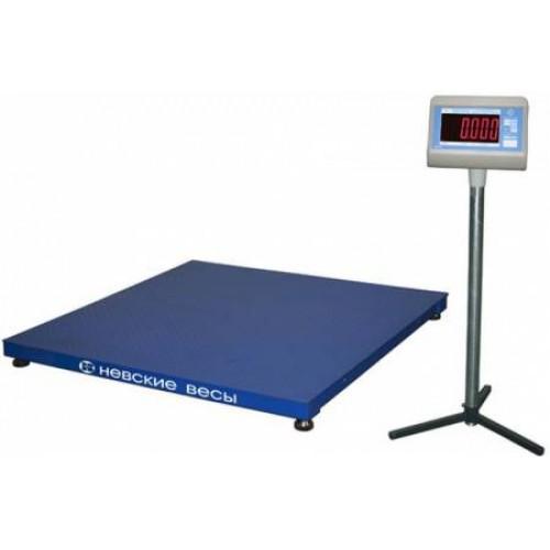 ВСП4-600.2 А9-1215 - Промышленные электронные платформенные весы с 4 датчиками