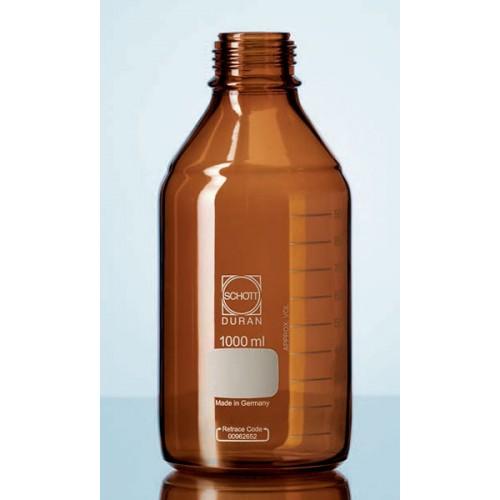 Бутыль DURAN Group 20000 мл, GL45, без крышки и сливного кольца, коричневое стекло