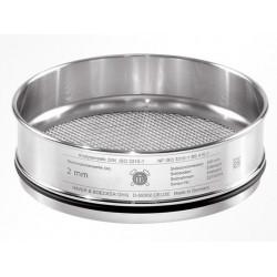 Сито лабораторное Haver & Boecker с тканым полотном из нерж. стали, диаметр 200 мм, высота 50 мм, размер ячейки 400 мкм