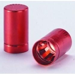 Колпачки алюминиевые schuett-biotec LABOCAP без ручки, 24-26 мм, красные, 100 шт/упак (Артикул 3.624 833)