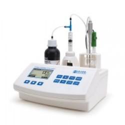 Минититратор Hanna HI84502 для определения титруемой кислотности в вине