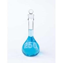 Колба мерная Kimble 200 мл, класс A, прочная, со стеклянной пробкой, светлое стекло (Артикул 92812G-200)