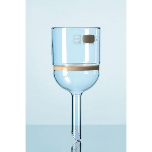 Воронка фильтрующая DURAN Group 1000 мл, диаметр 120 мм, длина 270 мм, пористость 5, стекло