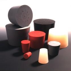 Пробка резиновая Deutsch & Neumann, размеры 12,5/16,5/20 мм, красно-коричневая