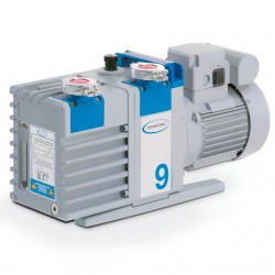 Пластинчато-роторный насос Vacuubrand RZ 9, 8,9 м3/час, парц. вакуум 4 x 10-4 мбар