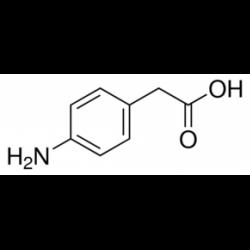 4-аминофенилуксусная кислота, 98%, Acros Organics, 25г
