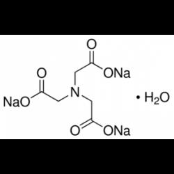 Нитрилотриуксусная кислота, тризодий соль, моногидрат, 99+%, Acros Organics, 25г