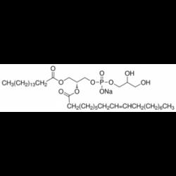 Натриевая соль 2-олеоил-1-пальмитоил-sn-глицеро-3-фосфорац- (1-глицерина) 98,0% (ТСХ) Sigma 63371