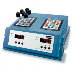 Блочный нагреватель Stuart SBH130DC, 2 блока, раздельное цифровое управление, 130°C (Артикул 36610-31)
