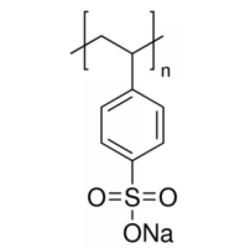Поли(натрия-p-стиролсульфонат), в среднем M.W. 70.000, Acros Organics, 500г
