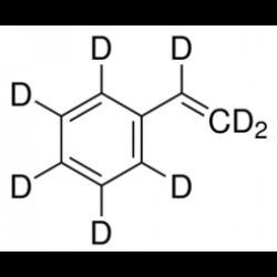Стирол-d8, для ямр , 98+ атом.% D, стаб., Acros Organics, 1г