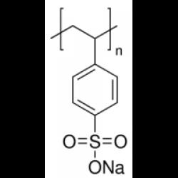 Поли(натрия-p-стиролсульфонат), в среднем M.W. 70.000, Acros Organics, 5г