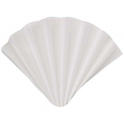 10311451 Фильтровальная бумага Grade 593 1/2, складчатый фильтр, диаметр 240 мм, толщина 0.17 мм, 100 шт/упак