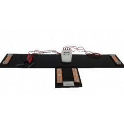 Устройство для измерения электрического поверхностного сопротивления электропроводящей ткани и ленты