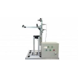 Прибор для испытания методом трибоэлектрического накопления заряда